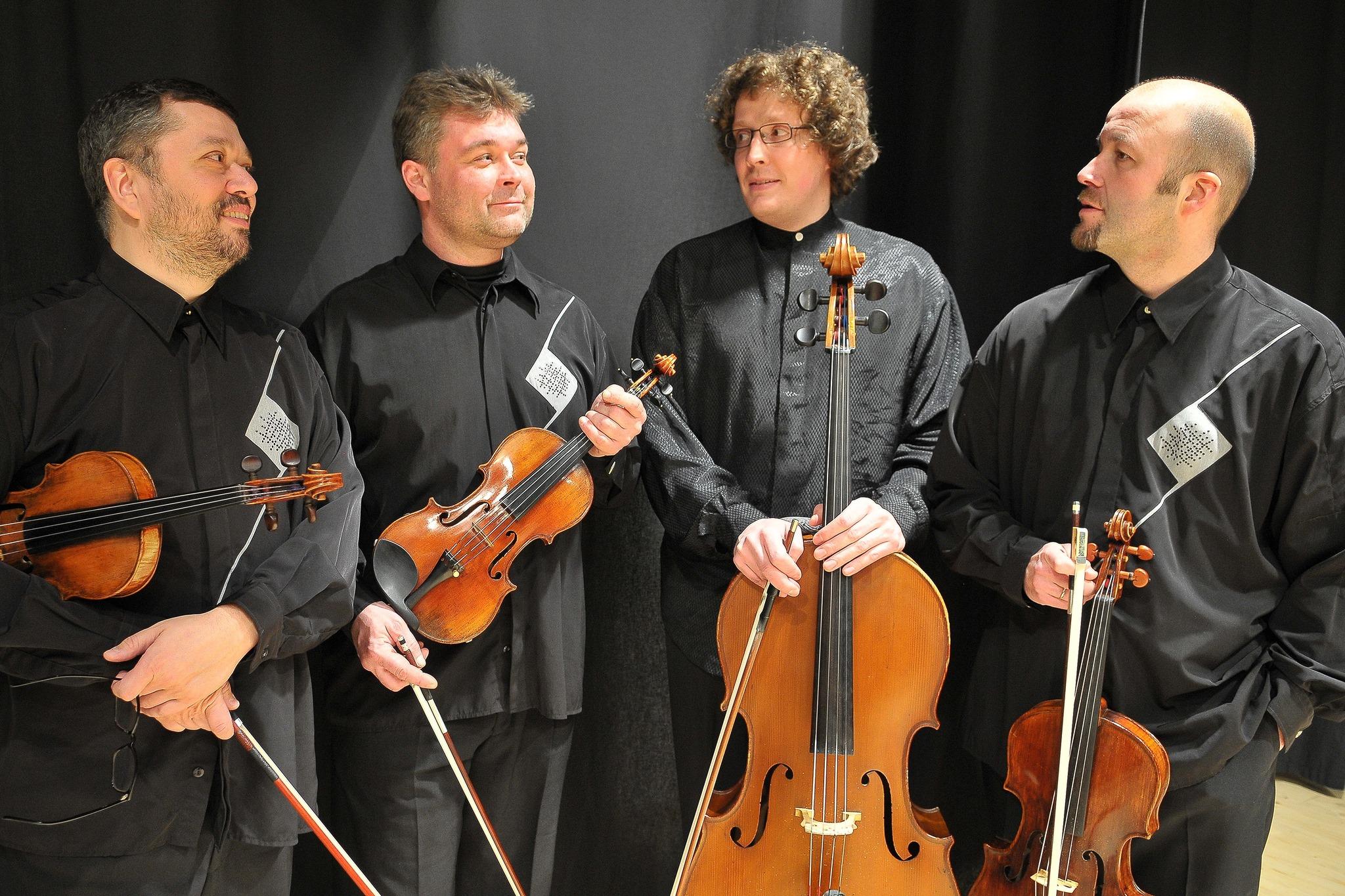 2017-01-27, Amadeus Tafelrunde, Nostitz Quartett, ©Archiv SMG